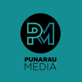 Punarau Media Logo Graphic Design Cambridge Waikato New Zealand Journeyman Creative Goods