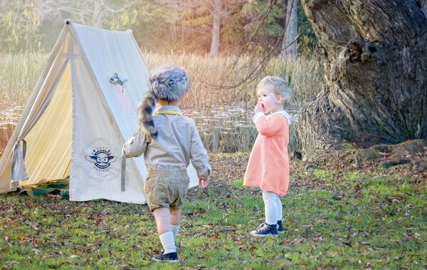 Suzy Bishop Sam Shakusky Khaki Scouts Wes Anderson Inspired Photo Moonrise Kingdom Journeyman Creative Goods Cambridge & Adventure Scouts | Journeyman Creative Goods