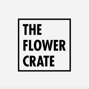 The Flower Crate Logo Graphic Design Cambridge Waikato New Zealand Journeyman Creative Goods
