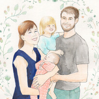 Family Portrait - Illustration