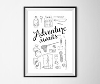 Adventure Awaits – A3